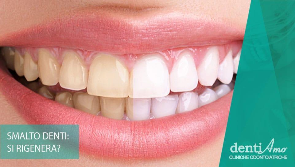 Lo smalto dei denti si rigenera?