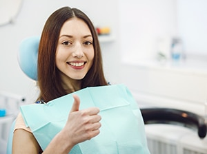 cliente dentista sorriso