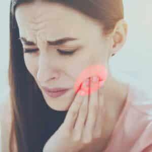 mal di denti donna