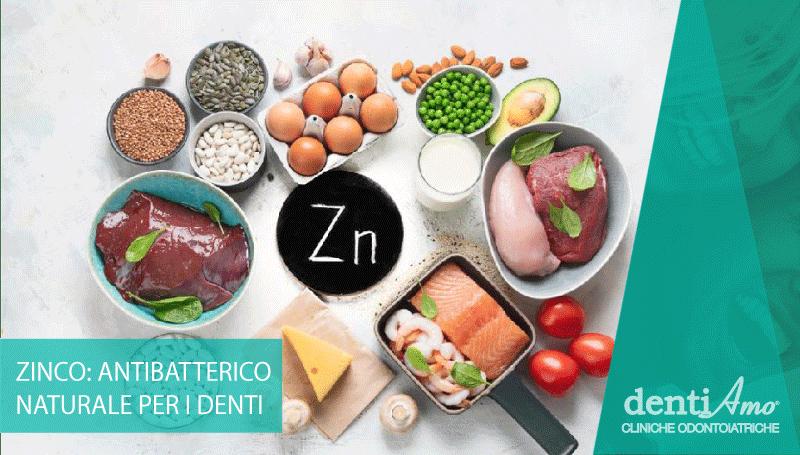 Zinco: un antibatterico naturale per la salute dei denti
