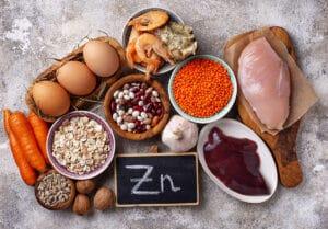 alimenti ricchi di zinco-salute dentale